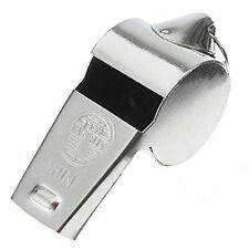 Stainless Steel Metal Whistle Party Referee Sports School Football Rugby Dog Tra