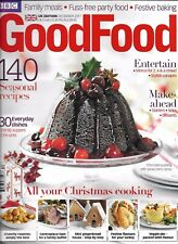 Good Food Magazine Christmas Cooking Seasonal Recipes Family Suppers Entertain