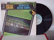 DISQUE 33T/30cm - BRUITAGE CINEMA vol 6 - SPORTS DE NOTRE TEMPS - DISQUE PATHE
