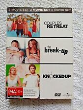 COUPLES RETREAT/ THE BREAK-UP/ KNOCKED UP – DVD, 3-MOVIE SET, REGION-4