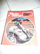 MOTO REVUE n° 2096  1972 rungis un petit daytona