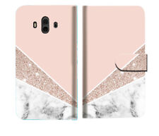 Marble Shape Stone Wallet Case Cover For Huawei Mate 10 - A032