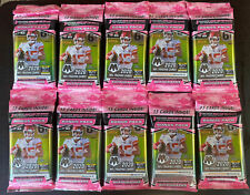2020 Panini MOSAIC NFL Football CELLO Pack!Camo Pink Parallel! Lot Of 10
