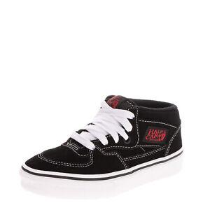 VANS HALF CAB Kids Suede Leather Sneakers EU 31 UK 13 US 13.5 Contrast Stitching