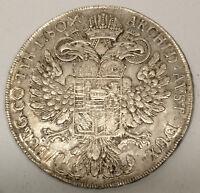 AUSTRIA / 1780 SF Silver Thaler Maria Theresa - Milan Mint !!