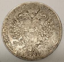 AUSTRIA / 1780 SF Silver Thaler Maria Theresa - Venice Mint !!