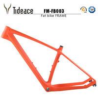 T800 Carbon OEM Fat Snow Bike Frame BSA AERO Carbon Fiber Bicycle Frameset