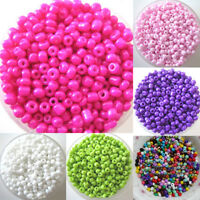 1200pcs Lots 2mm Glass Beads Seed Pearls Round Spacer For Jewelry Making SMART