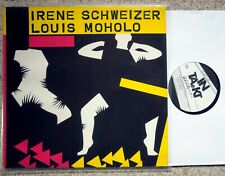 Irene Schweizer / Louis Moholo RARE Free Jazz SWISS LP