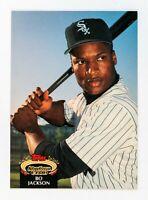 Bo Jackson #654 (1992 Stadium Club) Baseball Card, Chicago White sox