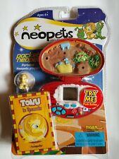 Neopets Pocket Neopet Tonu in Tyrannia 2002 Factory Sealed.