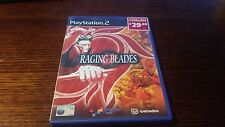 Raging Blades (Sony Playstation 2, PS2) Complete Rare RPG