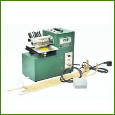 Leather slitting machine for shoe bags paper products cutting straight 220V only