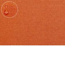 Tischdecke leinen OPTIK Lotuseffekt Fleckschutz 160x220 oval orange
