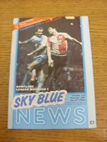 14/11/1987 Coventry City v Wimbledon  (Excellent Condition)