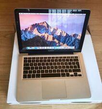 "Apple Macbook Pro 13.3"" Core 2 Duo 2.4GHz 4GB 120GB SSD 2010 A1278 Bargain Price"