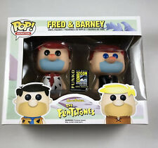 Funko POP Animation Hanna Barbera - FRED & BARNEY Red Hair - SDCC 2014 NEW