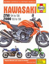 Haynes 4762 2003-2008 Kawasaki Z750 Z1000 Maintenance Repair Service Shop Manual