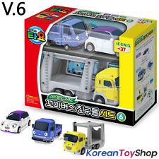 Tayo Little Bus Friends Special V.6 Mini Car 3 pcs Toy Set Teach Iratcha Carry