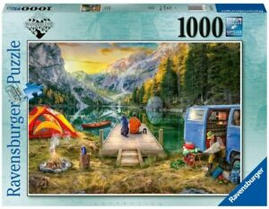 Jigsaw Puzzle - CALM CAMPSITE - 1000 Pieces