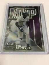 1998 KEN GRIFFEY JR SN 385/500 LEAF ROOKIES & STARS MVP PENNANT EDITION #7 *40