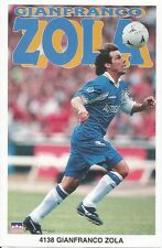GIANFRANCO ZOLA CHELSEA FC Original Starline Poster MINI Promo Piece 3x5