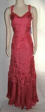 Blumarine Designer Pink Silk Full Length Gown Dress Size 42 $5,600