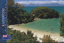Postkarte: Kaiteriteri, Nelson-District, Neuseeland