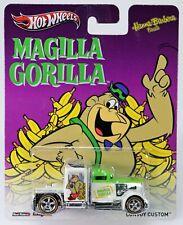Hot Wheels Convoy Custom Magilla Gorilla Hanna Barbera #X8365 NRFP Grn/Wht 1:64