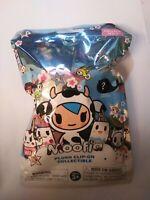 Moofia Plush Clip On Collectible Series 1 Tokidoki Aurora Blind Bag Milk