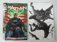 DC Comics 2020 Batman #87 Main + Francesco Mattina Variant NM