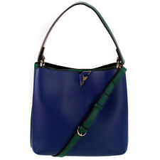 Fiorelli Blue & Green Faux Leather Two Tone Shoulder Crossbody Bag For Women