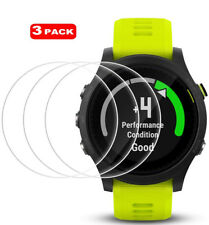 3 x For Garmin Forerunner 935 Clear Tempered Glass Screen Protector Smart Watch