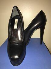Simply Vera Dali Black Platform Stilettos High Heels Women's 6M