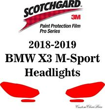 3M Scotchgard Paint Protection Film Pro Series Clear 2018 2019 BMW X3 M-Sport