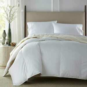 Downlite Hotel & Resort All Seasons Premium White Down Comforter. W/Detail