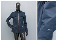 TOMMY HILFIGER Jacket Ladies Blue Fitted Coat XS