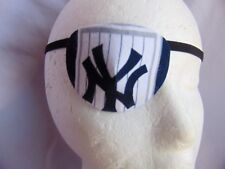 Adult unisex handmade eye patch/NY Yankee /health beauty/ eye care /two styles
