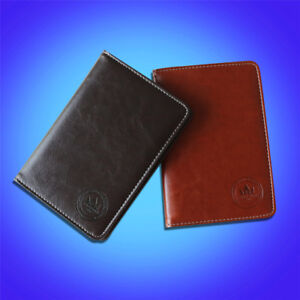 USA Deluxe PU Leather Craftsman Golf Scorecard Holder For Callaway Taylormade