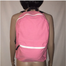 New Women Canvas Backpack School Book Bags Teenage Girls Travel Hiking Bag Pink