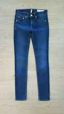 RAG & BONE Bedford Skinny Jeans Size 25; Bedford Wash; Mint Cond