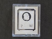 Franz Josef I Hungary Silver Art Bar Franklin Mint World Stamps P0432