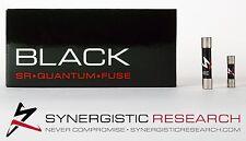 SYNERGISTIC RESEARCH BLACK QUANTUM FUSES 13 AMP UK MAINS PLUG FUSE