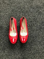 Ladie Fitflop size UK 8/EU 42 New never been worn Rouge Leather slip on Due shoe