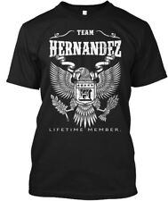 Hernandez View More Names Here - Team Lifetime Member Hanes Tagless Tee T-Shirt