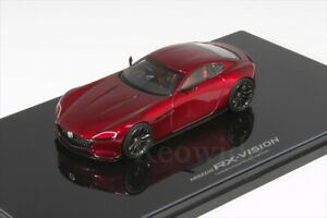 MAZDA RX-VISION 1/43 100th anniversary limited MODEL CAR COLLECTION JP