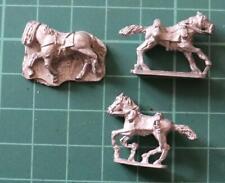Peter Pig 15mm WWI Horses x 3