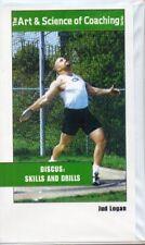 Discus Skills & Drills VHS Art & Science Coaching Jud Logan Track & Field Sports