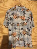 Island Shores Men's Size XL Hawaiian Short Sleeve Shirt