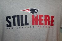 2019 New England Patriots NFL  **STILL HERE**   T - Shirt           $ 40.00  NEW